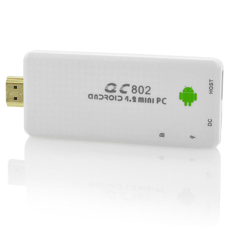 "HDMI Android 4.2 TV Dongle ""Generation"" - Quad Core 1.6GHz CPU, 2GB RAM (White) OA5168"